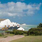 Seven Sisters Cliffs by DonDavisUK