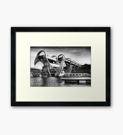 The Falkirk Wheel Framed Print