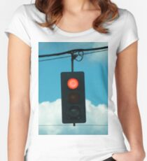 Red Light Women's Fitted Scoop T-Shirt