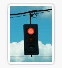 Red Light Sticker