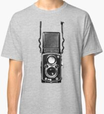 Vintage Medium Format Camera Rolleiflex Twin Lens Reflex (TLR) Classic T-Shirt