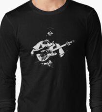 Dark Guitarist Long Sleeve T-Shirt