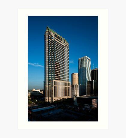 Regions and Bank of America Art Print