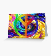 Peace and Harmony Greeting Card
