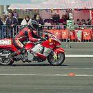 Isle of Man TT 2011 Jurby drag racing by Stephen Kane
