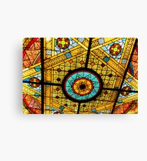 Opryland Hotel Stained Glass Canvas Print