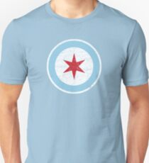 Vintage Chicago Star Slim Fit T-Shirt