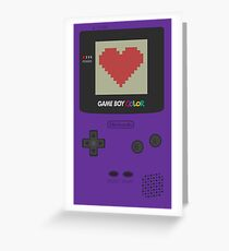 GAME BOY COLOR <3 Greeting Card