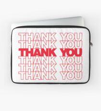Thank You Plastic Bag Laptop Sleeve