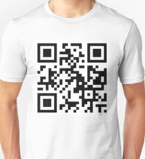 QR code - I'M SO HIP IT HURTS. T-Shirt