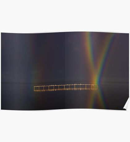 """""""Perched At Rainbows Crossing"""" Poster"""