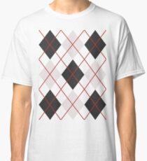 Preppy Diamonds (Black and White) Classic T-Shirt