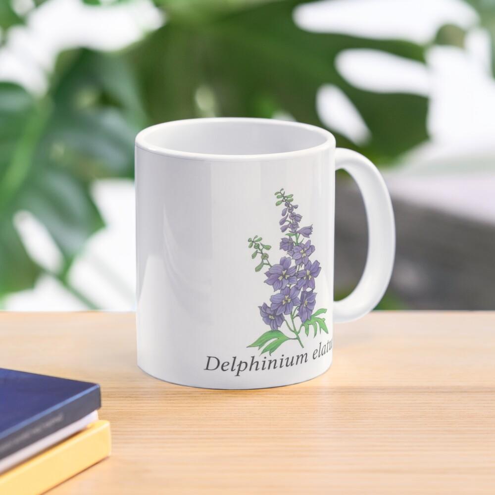 Delphinium elatum Mug