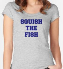 Squish the Fish Women's Fitted Scoop T-Shirt