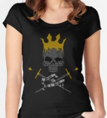 Game of Crossbones Women's Fitted Scoop T-Shirt