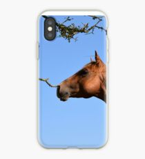 Storm and the tree iPhone Case