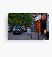 TaxiCab Colors Canvas Print