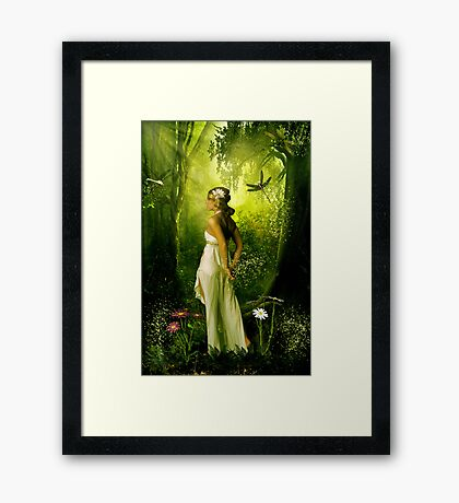 """""""Not all those who wander are lost"""" Framed Print"""