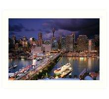 Quot Dazzling Darling Harbour Quot By Cameron B Redbubble