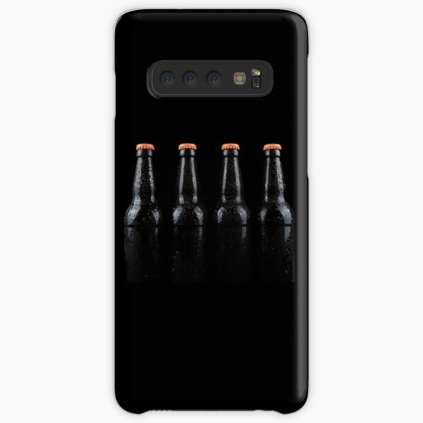 Bottles of beer with water droplets Samsung Galaxy Snap Case