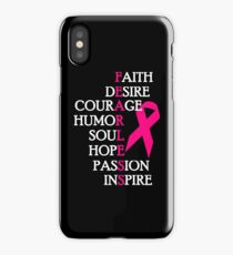 Fearless Breast Cancer Awareness iPhone Case/Skin