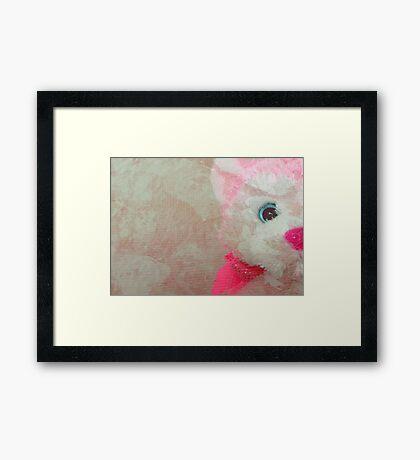 I've got my eye on you!!! © Framed Print