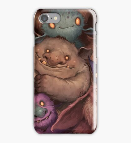 A Snuggle of Gnomes iPhone Case/Skin