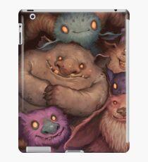 A Snuggle of Gnomes iPad Case/Skin
