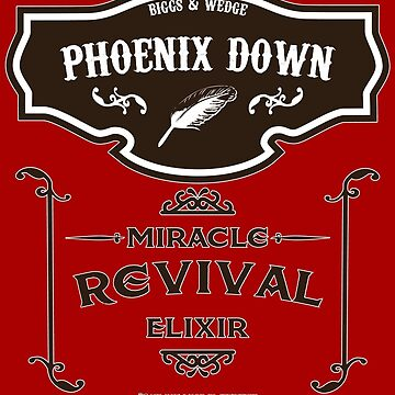 Phoenix Down - Miracle Revival Elixir by CloakAndDaggers