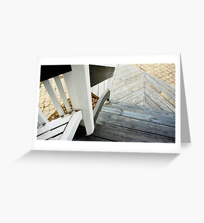 Stair Angles Greeting Card