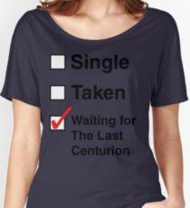 SINGLE TAKEN THE LAST CENTURION Women's Relaxed Fit T-Shirt