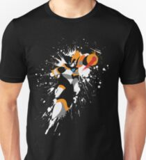 Bass/Forte Splattery Explosion Slim Fit T-Shirt