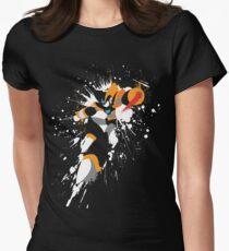 Bass/Forte Splattery Explosion Women's Fitted T-Shirt
