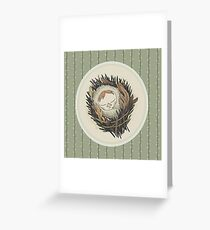 Sleeping Salix Greeting Card