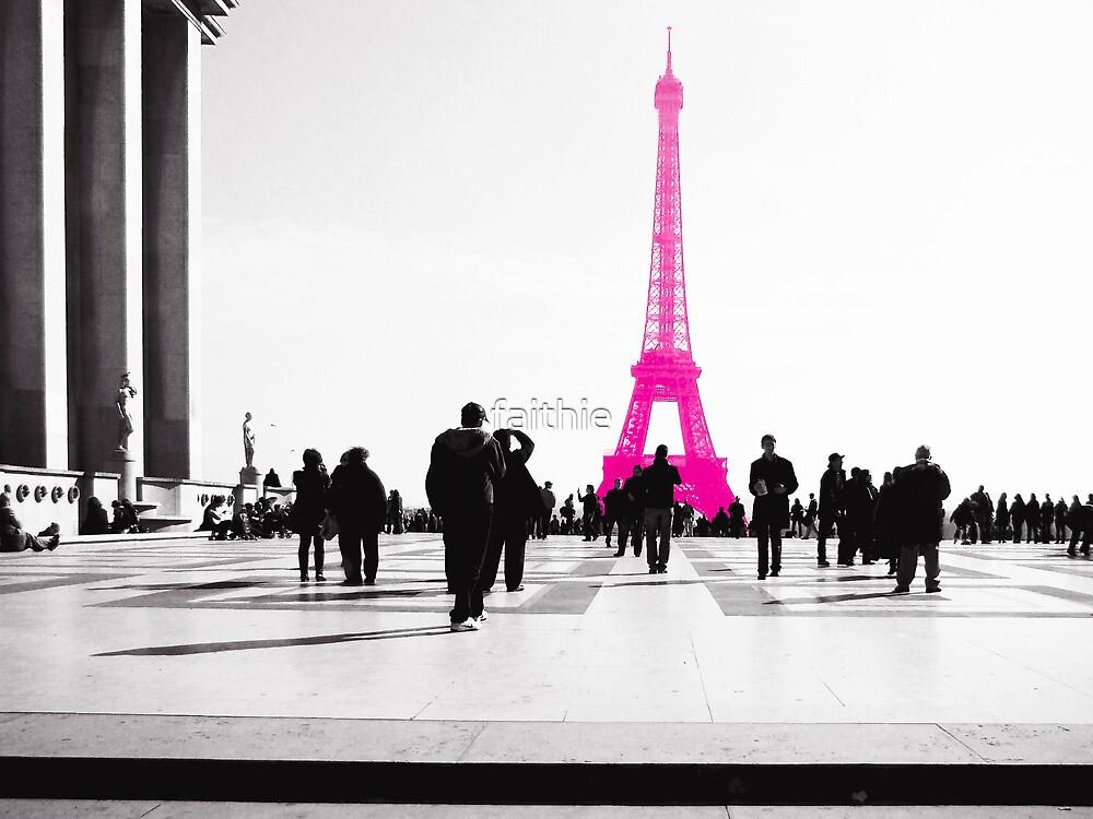 la vie en Rose à Paris by faithie