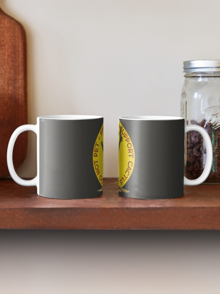 Alternate view of Emotional Support Cactus - Do Not Pet Mug