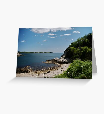 Towards Newport Greeting Card