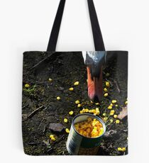 Hungry Swan Tote Bag