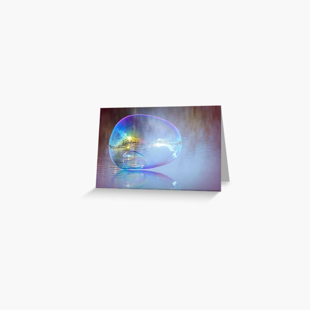 Dream Bubble 2 Greeting Card