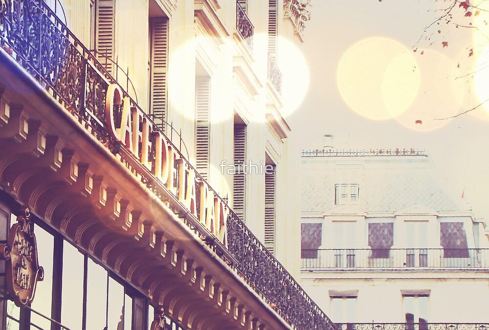 café de la paix - a Paris detail by faithie