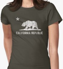 VIntage California Republic Women's Fitted T-Shirt