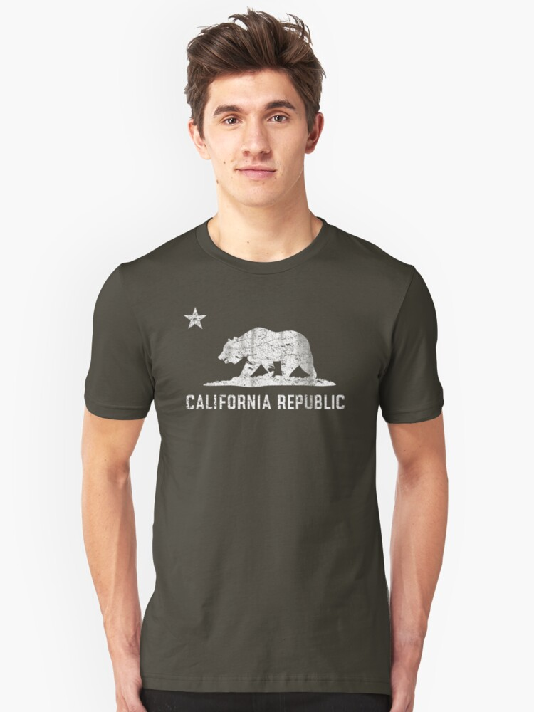 VIntage California Republic Unisex T-Shirt Front