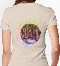 Old Forest Womens Fitted T-Shirt