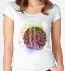 Family of trees Women's Fitted Scoop T-Shirt