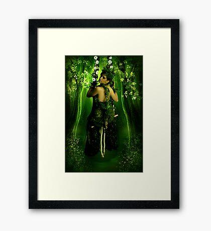 Swinging on a Dream Framed Print