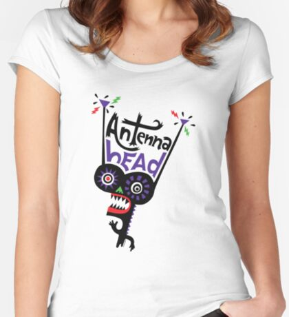 Antenna Head Women's Fitted Scoop T-Shirt
