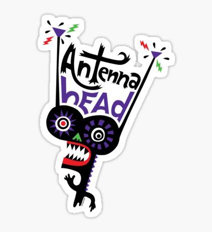 Antenna Head Sticker