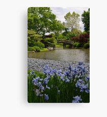 Spring in a Japanese Garden Canvas Print