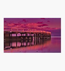 """Dawn Blush"" Photographic Print"