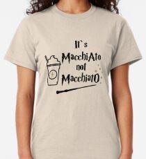 It's macchiato not macchiato. Harry gift, potter fan Classic T-Shirt